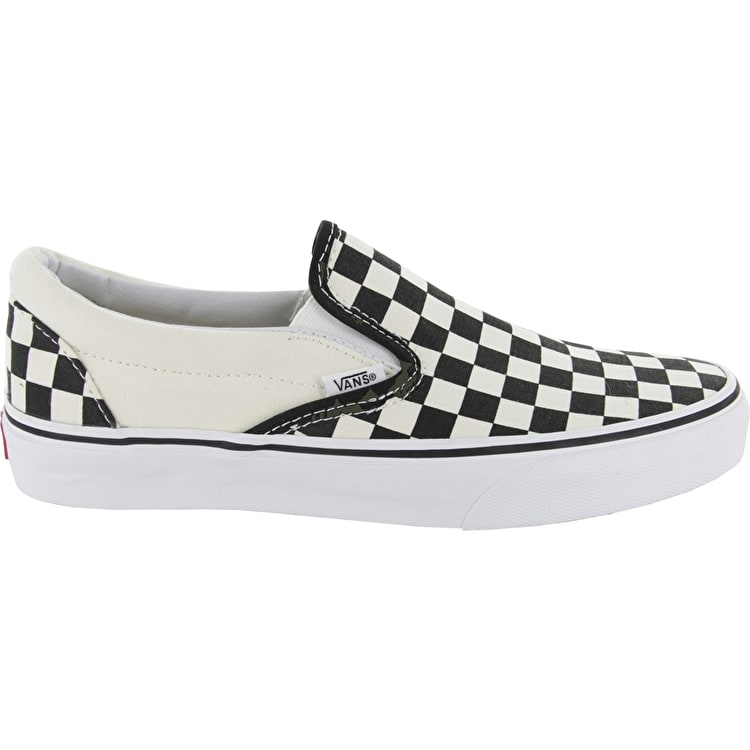 f876ade716 Vans Classic Slip On Shoes – Black White Checkerboard