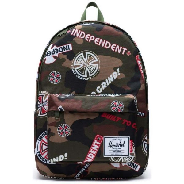 Herschel-x-Independent-Classic-X-Large-30L-Backpack-Woodland-Camo-Logo